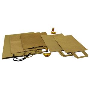 Kraft Paper Carrier Bags